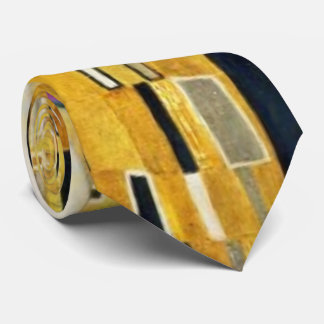 Gustav Klimt The Kiss Vintage Art Nouveau Painting Neck Tie