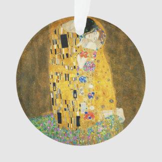 Gustav Klimt The Kiss Vintage Art Nouveau Painting Ornament