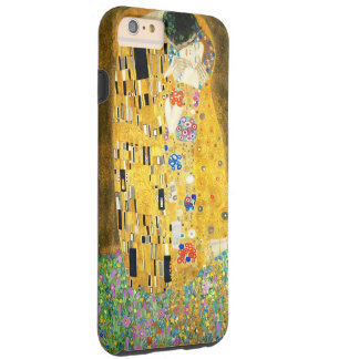 Gustav Klimt The Kiss Vintage Art Nouveau Painting Tough iPhone 6 Plus Case