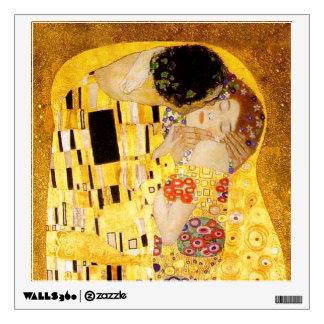 Gustav Klimt The Kiss Wall Stickers