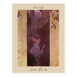 Gustav Klimt The Love 1895 Postcard