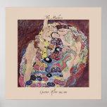 Gustav Klimt The Maidens 1912-1913 Poster Print