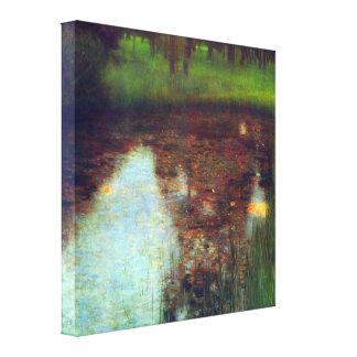 Gustav Klimt - The Marsh Canvas Print