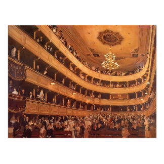 Gustav Klimt- The Old Burgtheater Postcard