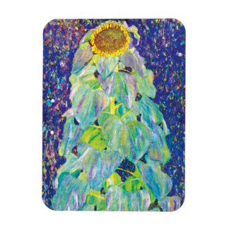 Gustav Klimt - The Sunflower Fine Art Painting Magnet