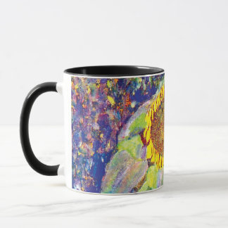 Gustav Klimt - The Sunflower Fine Art Painting Mug