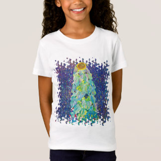 Gustav Klimt - The Sunflower Fine Art Painting T-Shirt