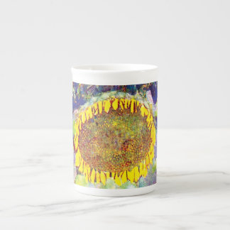 Gustav Klimt - The Sunflower Fine Art Painting Tea Cup