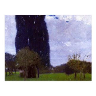 Gustav Klimt- The Tall Poplar Trees II Post Cards