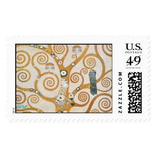 Gustav Klimt The Tree Of Life Art Nouveau Postage