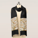 "Gustav Klimt The Tree Of Life Art Nouveau Scarf<br><div class=""desc"">Gustav Klimt The Tree Of Life Vintage Art Nouveau Painting The Tree of Life, Stoclet Frieze (French: L&#39;Arbre de Vie, Stoclet Frieze) is a painting by Austrian symbolist painter Gustav Klimt. It was completed in 1909 and is based on the Art Nouveau (Modern) style in a symbolic painting genre. It...</div>"
