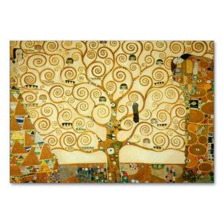 Gustav Klimt The Tree Of Life Art Nouveau Table Card