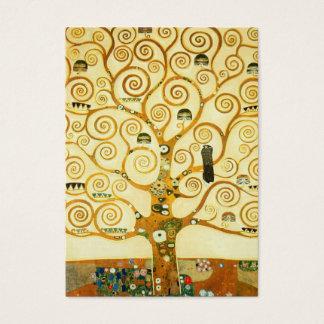 Gustav Klimt The Tree Of Life Vintage Art Nouveau Business Card