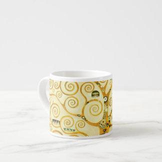 Gustav Klimt The Tree Of Life Vintage Art Nouveau Espresso Cup