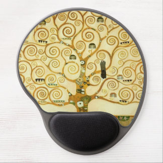 Gustav Klimt The Tree Of Life Vintage Art Nouveau Gel Mouse Pad