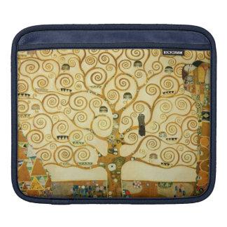Gustav Klimt The Tree Of Life Vintage Art Nouveau iPad Sleeves