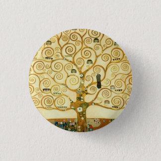 Gustav Klimt The Tree Of Life Vintage Art Nouveau Pinback Button