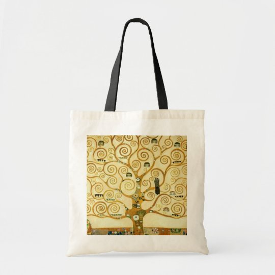 Gustav Klimt The Tree Of Life Vintage Art Nouveau Tote Bag