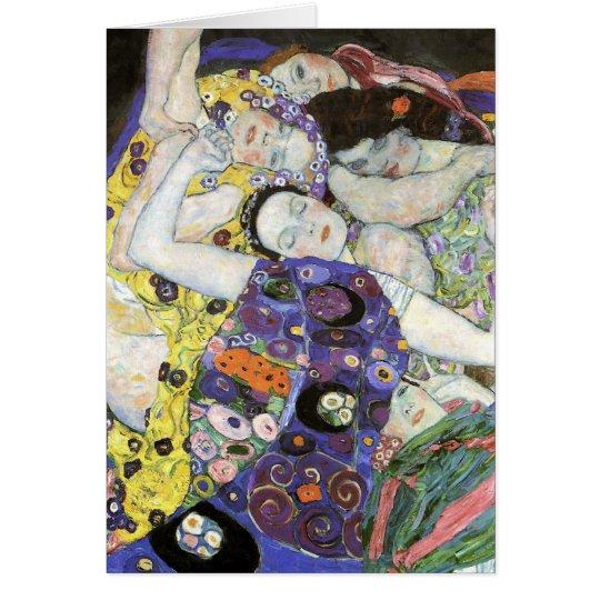 Gustav Klimt ~ The Virgin Card