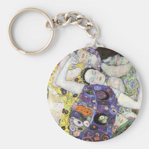 Gustav Klimt ~ The Virgin Keychain