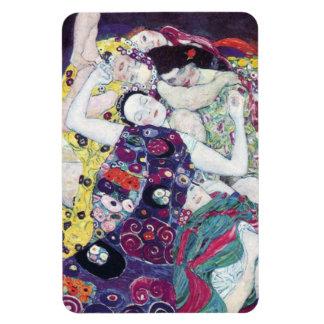 Gustav Klimt The Virgin Magent Rectangular Photo Magnet