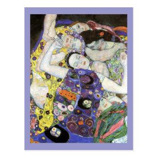 Gustav Klimt ~ The Virgin Postcard
