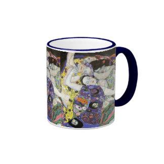 Gustav Klimt ~ The Virgin Ringer Coffee Mug
