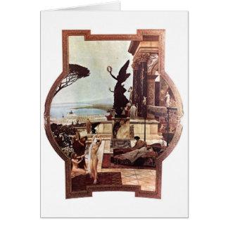 Gustav Klimt ~ Theater von Taormina Card
