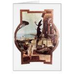Gustav Klimt ~ Theater von Taormina Cards