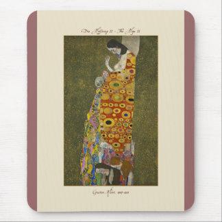 Gustav Klimt TheHope II 1907-1908 Mousepad