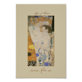 Gustav Klimt Three Ages of Woman detail Poster