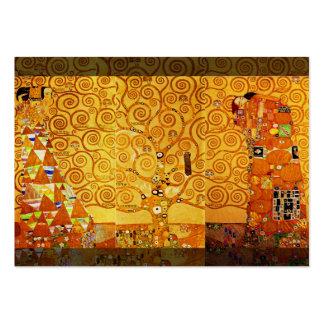 Gustav Klimt Tree of Life Art Nouveau Large Business Cards (Pack Of 100)