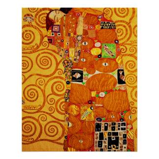 Gustav Klimt Tree of Life Art Nouveau Poster