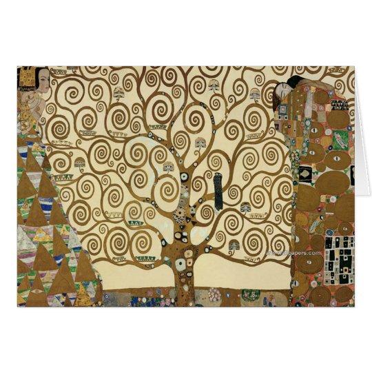 Gustav Klimt - Tree of Life Card