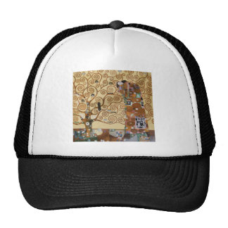 Gustav Klimt Tree Of Life Trucker Hat