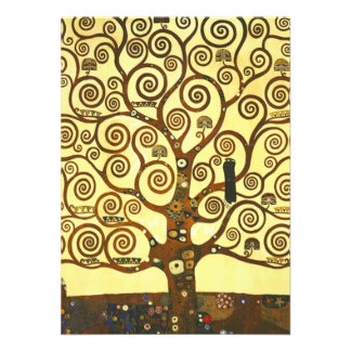 Gustav Klimt Tree of Life Invitations