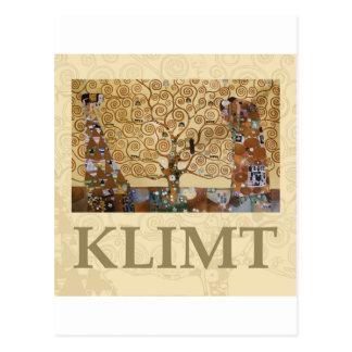 Gustav Klimt Tree Of Life Postcard