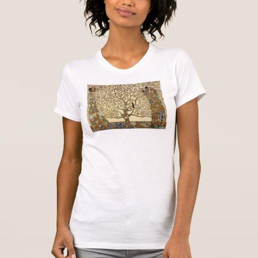 Gustav Klimt - Tree of Life Shirts