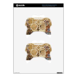 Gustav Klimt Tree Of Life Xbox 360 Controller Skin