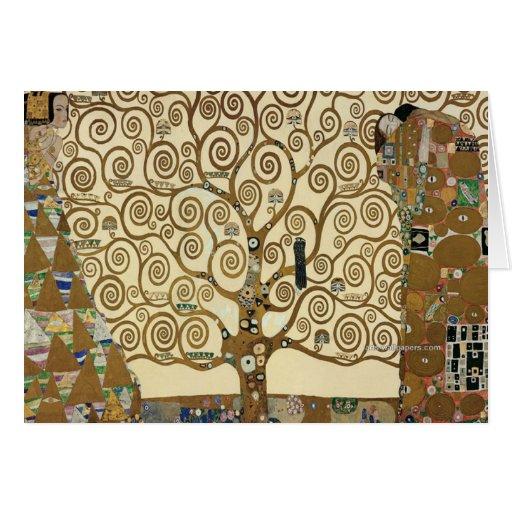 Gustav Klimt - Tree of Life Stationery Note Card