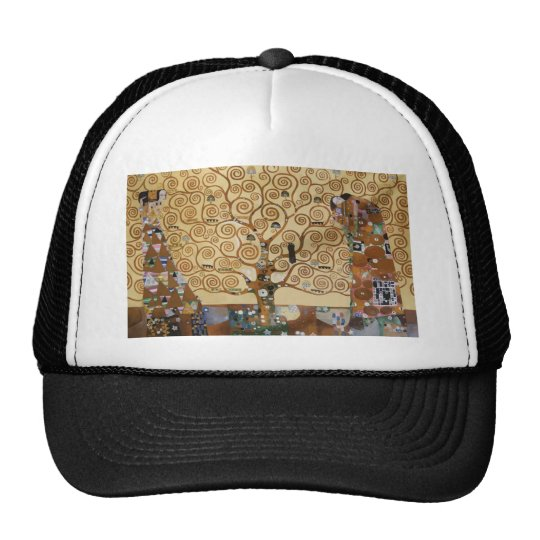 Gustav Klimt Tree Of Life Trucker Hat