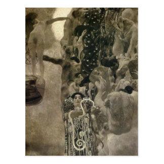 Gustav Klimt-Vienna University Ceiling Paintings Postcard