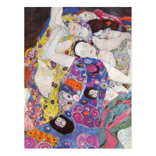 Gustav Klimt - Virgin Postcard