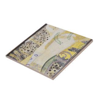 Gustav Klimt- Watersnakes Tile