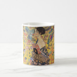 Gustav Klimt - Woman with fan Coffee Mug