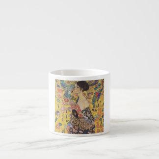 Gustav Klimt - Woman with fan Espresso Cup