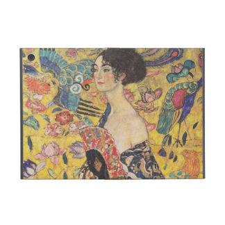 Gustav Klimt - Woman with fan Case For iPad Mini