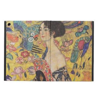 Gustav Klimt - Woman with fan iPad Air Cover