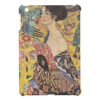 Gustav Klimt - Woman with fan iPad Mini Cover