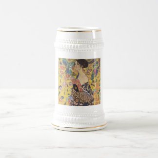 Gustav Klimt - Woman with fan Mug